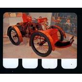 Plaquette Metal -Chenard Walker - Collection L'auto � Travers Les Ages - 6cm * 8cm