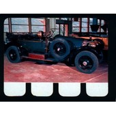 Plaquette Metal -Mercedes 1913- N�74 - Collection L'auto � Travers Les Ages - 6cm * 8cm