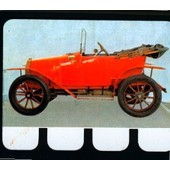Plaquette Metal -Zebre 1911- N�37 - Collection L'auto � Travers Les Ages - 6cm * 8cm