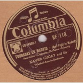 25 Cm 78 Trs Morena / Touradas En Madrid - Xavier Cugat And His Waldorf-Astoria Orchestra