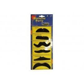 Lot De 6 Moustaches Adhesives