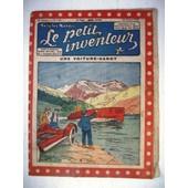 Le Petit Inventeur. N�106. Une Voiture Canot.24 Mars 1925.Une Voiture-Canot