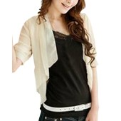 Femme Sheer Blazer Court Veste Mousseline Chemisier Suit Tops Chemises Shirts