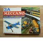 Meccano - Boite Cartonn�e De La S�rie Th�matique. Boite Compl�mentaire 3a. R�f. 214 N. 1966-69