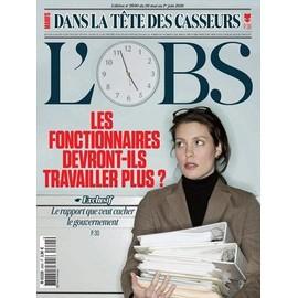 Le Nouvel Observateur 2690 : Les Fonctionnaires Devront-Ils Travailler Plus ?