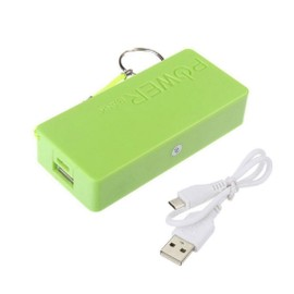 Power Bank Batterie externe de secours 5600 mah - Powerbank - tout smartphone, Iphone, tablette - Vert