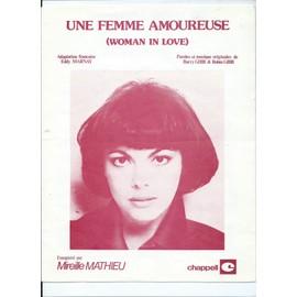 Une femme amoureuse Mireille Mathieu