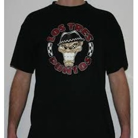 T-Shirt B&c Coton L Noir Los Tres Puntos