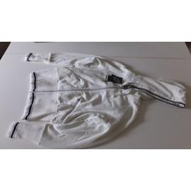 Veste Running Lotto Veste Courte Suit Victoria Coton S Blanc
