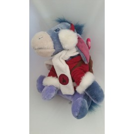 Doudou �ne Bourriquet Disneyland Resort Paris Disney Edition Limit�e 2009 Collection Hivers N�el Jouet Bebe Naissance Peluche �veil Enfant Blanket Comforter Soft Toy Plush 30cm
