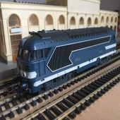 Locomotive Diesel Sncf Bb67001 Ho 1/87eme