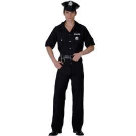 D�guisement Policier Homme - 37385 - Large - Port 0�