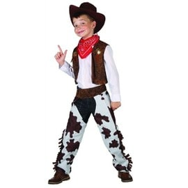 D�guisement Cowboy Luxe Gar�on - 13900 - 10 - 12 Ans (L) - Port 0�