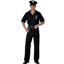 D�guisement Policier Homme - 37386 - Medium - Port 0�