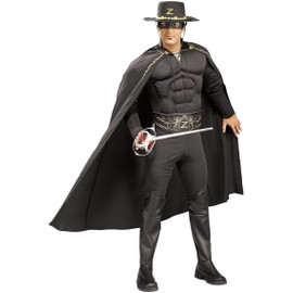 D�guisement Zorro Homme Muscl� - 40489 - Taille Unique - Port 0�