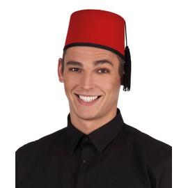 Chapeau Fez Feutrine Adulte - 3840 - Taille Unique - Port 0�