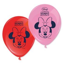 8 Ballons Imprim�s Minnie 28 Cm - 76069 - Taille Unique - Port 0�