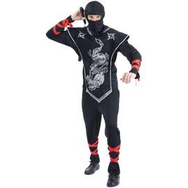 D�guisement Ninja Homme - 37881 - Taille Unique - Port 0�