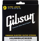 Gibson Seg-Sa9 Humbucker Ultra Lights Cordes Guitare �lectrique 9-42