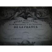 Atlas National Illustr� De La France de V. Levasseur