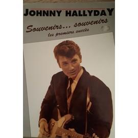 JOHNNY HALLYDAY Souvenirs...souvenirs les premiers succès