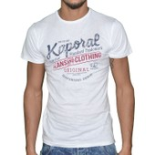 Kaporal - T-Shirt Manches Courtes - Homme - Feel - Blanc
