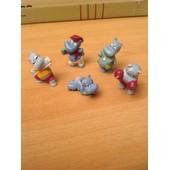 5 Hippopotames Kinder Surprise