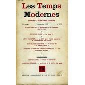 Les Temps Modernes N� 317 - Susan Sontag. � R�flexions Sur La Lib�ration Des Femmes Raymond Jean. � La Ligne 12 .Arno Munster. � Le Chili Entre L'unit� Populaire Et L'affrontement De ...