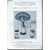 Catalogue D'encheres : Exposition A L'hotel Des Ventes De Saintes. 24 Novembre 2012. de GEOFFROY J.-R.