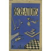 Recreations - Jeux De Dames Et D'echecs - Jeux De Cartes - Le Zanzi - Ping-Pong de Collectif