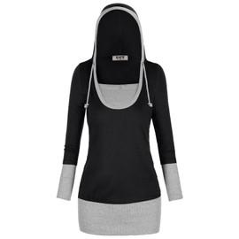 Djt Veste � Capuche De Pull De Dames Hoody Sweat Jacket Japon Style Long Manches Shirts