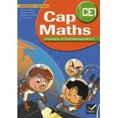 Cap Maths Ce1 Cycle 2 - Fichier D'entra�nement + Cahier De G�om�trie - Longueurs de Roland Charnay