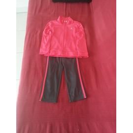 Jogging Athl�tisme Domyos Electro Pink Polyester 2 Ans Rose