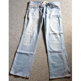 Pantacourt Gap Low Rise Cropped Jean 42 Bleu