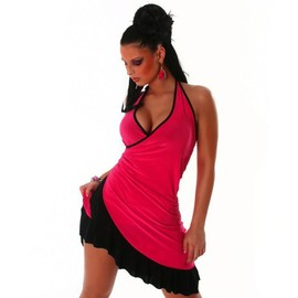 Sexy Robe Dos Nu Salsa Latino Lolita Fashion Danse - Soir�e - Cin� - Cocktail Rock Tango Zumba Taille Unique