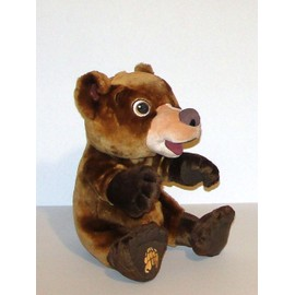 Koda Freres Des Ours Frere Des Ours Peluche Sonore Et Interactive Hasbro