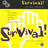 Survival! The Dance Compilation (Shamen/ Orbital /The Grid/Spooky/ Leftfield - Compilation Techno House Tribal
