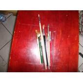 12 Pinceaux Et Palette