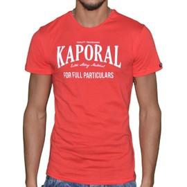 Kaporal - T-Shirt Manches Courtes - Homme - Speed 07 - Rouge