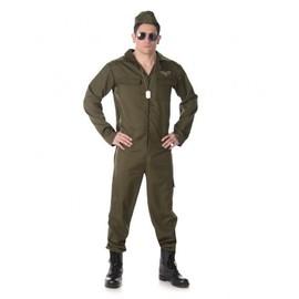 D�guisement Pilote De Chasse Homme, Taille Medium