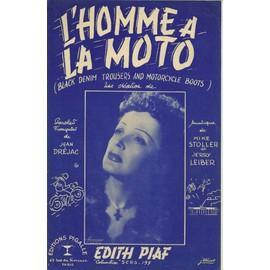 L'homme à la moto -  Edith Piaf