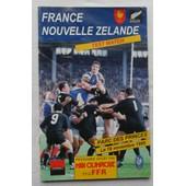 France - Nouvelle Z�lande. de Programme de la F�d�ration fran�aise de Rugby (ffr) avec midi olympique.