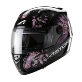 Astone - Casque Gt Fantasy - M - Graphic Exclusive Fantasy Pink - Rose