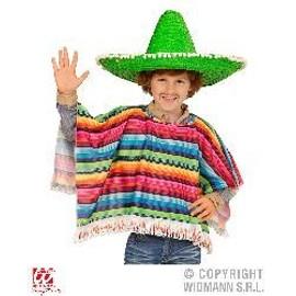 Poncho Mexicain Enfant 5/10 Ans
