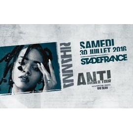Occasion, place de concert rihanna stade de france le 30 juillet pack hot seats 227.90 euros place carré or