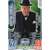Doctor Who Alien Attax Trading Card Game - Human