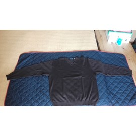 Pull Shilton Taille Xl Col V Manches Longues