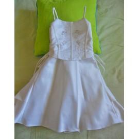 Robe De C�r�monie Taille 12 Mois �cru (Neuve)