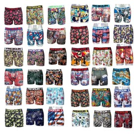 Freegun Lot Surprise 9 Boxers 9 Motifs Differents Selon Arrivage