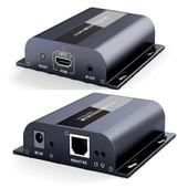 Jusqu'� 120m HDbitT HDMI Extender Avec IR Repeater LAN sur RJ45 Cat5e / Cat6 1080P LKV383